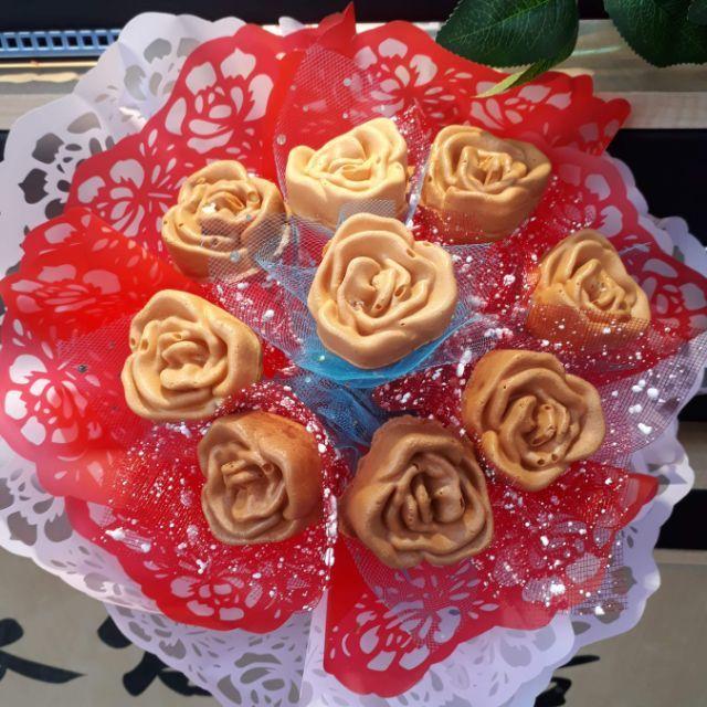 花束雞蛋糕♡玫瑰造型雞蛋糕烤盤(通用尺寸,如需搭配爐具可內洽)