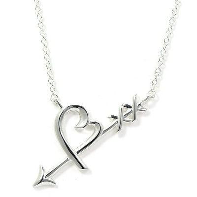 Tiffany & Co. Loving Heart 愛心箭項鍊