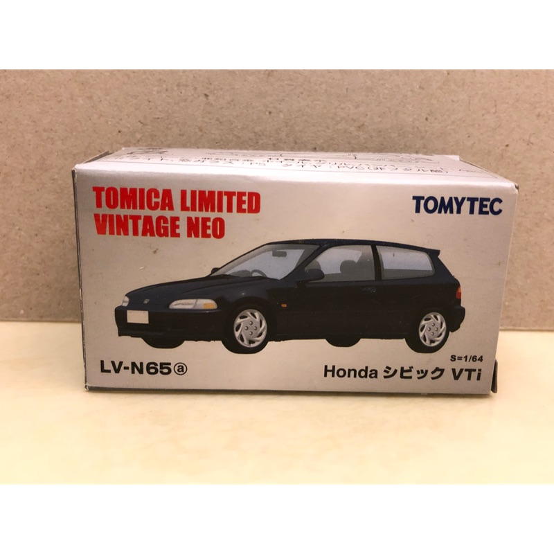 1/64 Tomytec TLV LV-N65a Honda Civic eg VTi 黑色