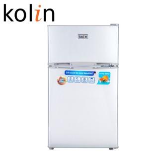 【KOLIN 歌林】全新一級節能90公升雙門小冰箱 (KR-SE20915/ 銀色) 台中市