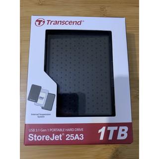 創見 2.5吋 外接硬碟 TS1TSJ25A3K StoreJet 25A3 經典黑 1TB/ 2TB USB 3.1 新北市