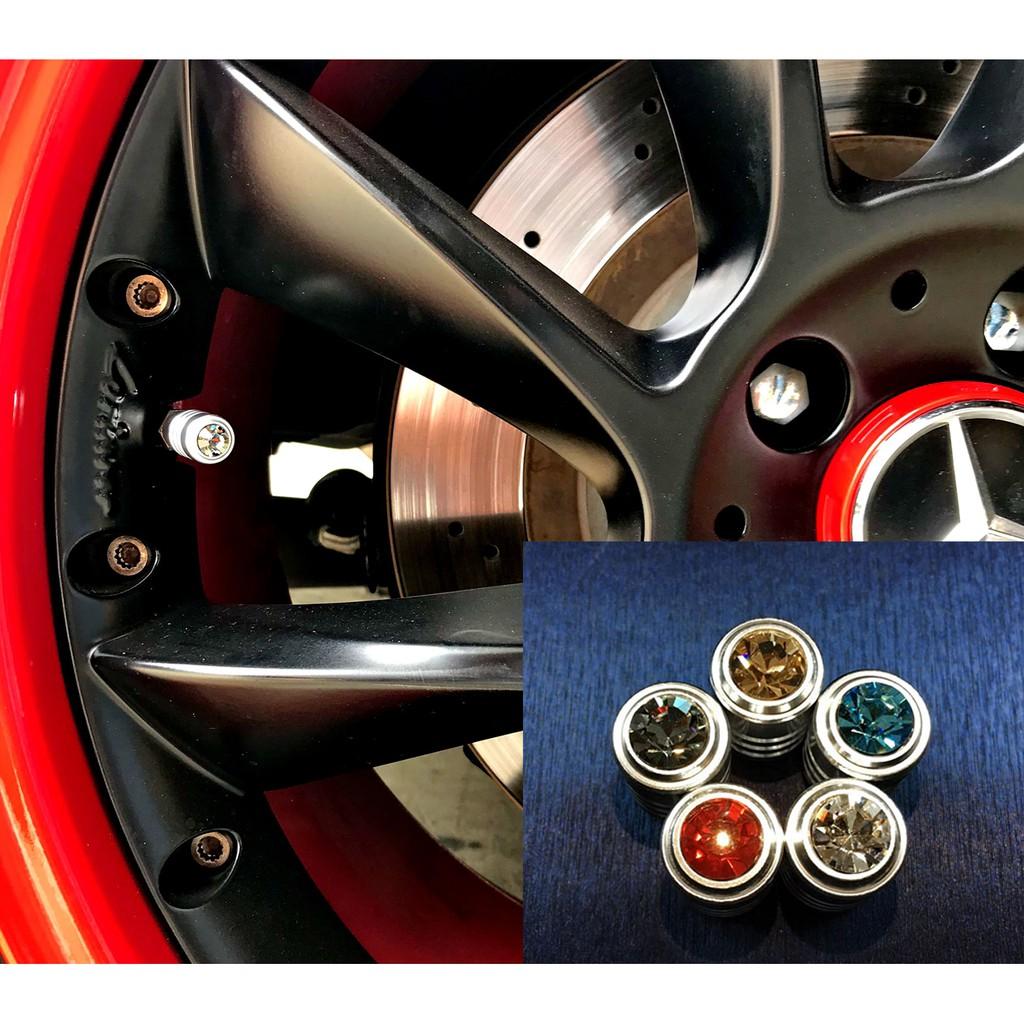 【JR 佳睿精品】Ford Kuga Focus 輪胎 改裝 水鑽 氣嘴蓋 輪胎帽 氣門帽 輪胎螺絲 輪胎帽 汽門帽嘴