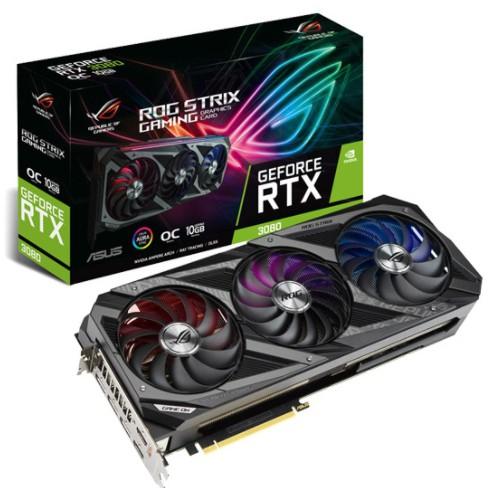 全新現貨  華碩 ROG-STRIX-RTX3080-O10G-GAMING