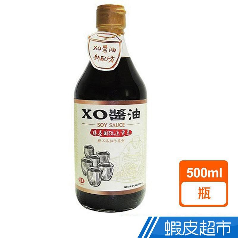 味王 XO醬油非基因改造黃豆 500ml 現貨 蝦皮直送