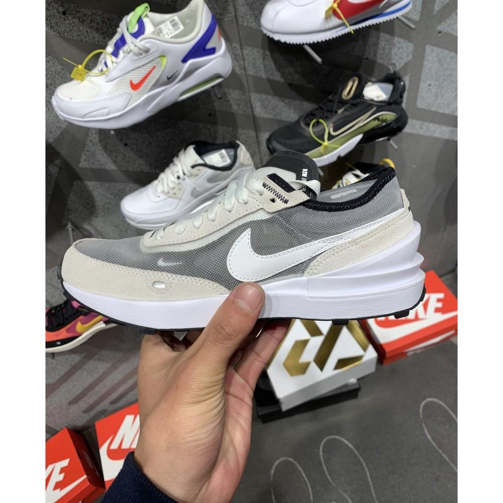 """全新爆款 Nike Waffle One """"Summit White"""" 米白灰 休閒鞋 DA7995-100 現貨"""