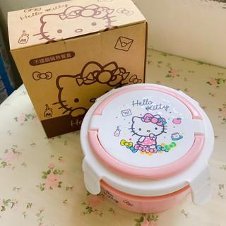 ❤丁丁媽咪❤ (全新) Hello Kitty 不鏽鋼隔熱餐盒800ml 便當盒 保鮮盒
