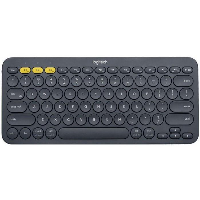 Logitech 羅技 K380 跨平台藍牙鍵盤 Easy-Switch易切換 輕便小巧【有印注音】【台灣公司貨】