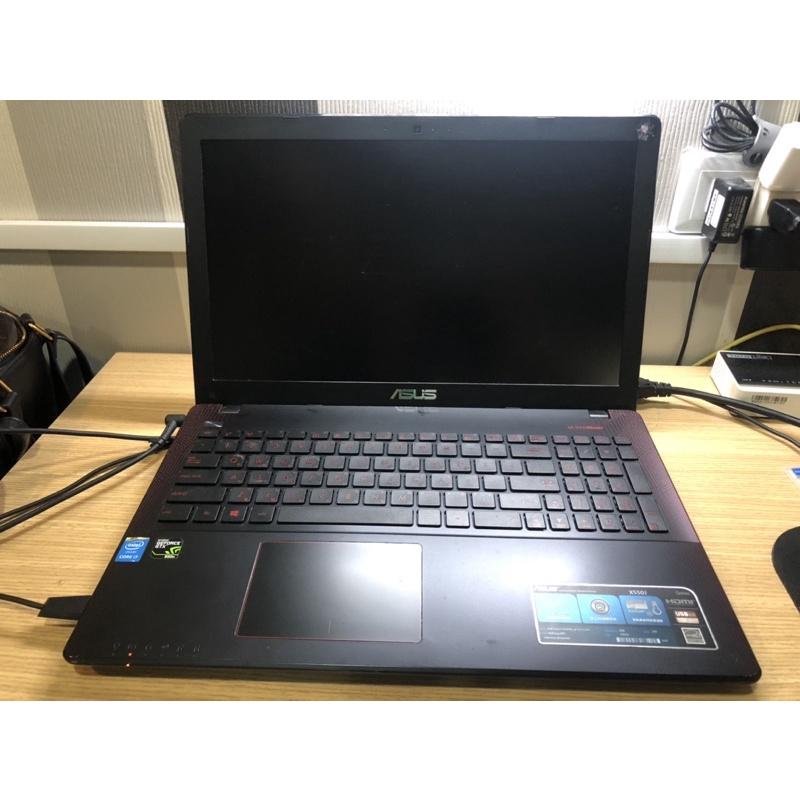 ASUS 華碩 X550JX高效能15.6吋 筆電 黑紅(I7-4720HQ/GTX950) 電競筆電