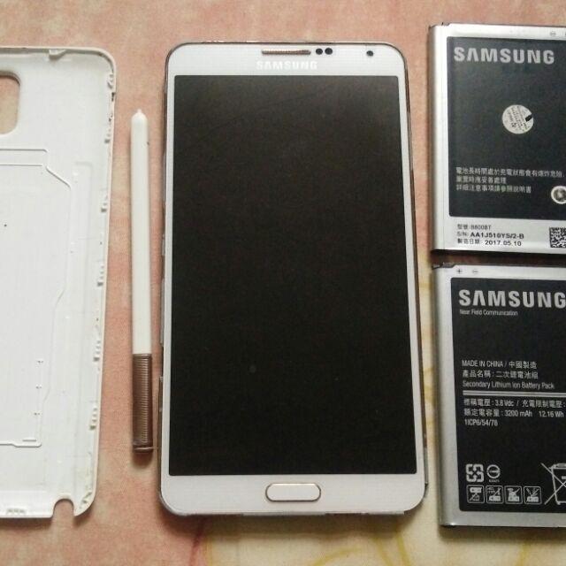 三星 samsung Note3 16G N900U 螢幕摔破 零件機 故障機 拆賣零件
