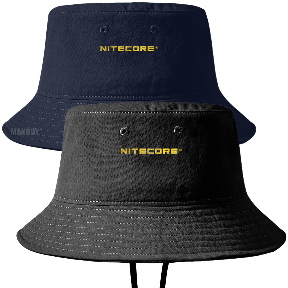 2020 Nitecore Ndh20 Boonie 帽子戶外運動露營遠足釣魚帽黑色 / 海軍藍色