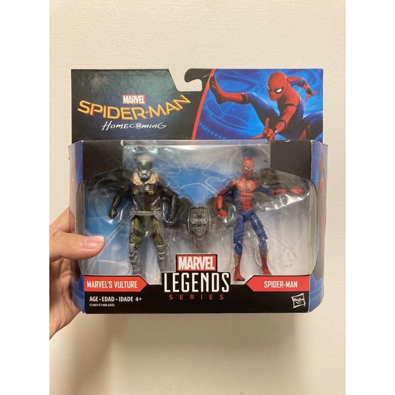 marvel legends 3.75寸 蜘蛛人 返校日 雙人組