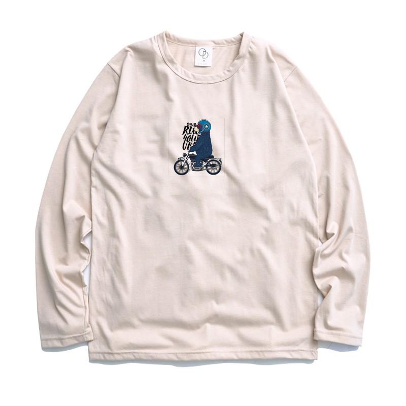 ONE DAY 台灣製 884C94 薄長素T 素長T 長T 男生長袖T恤 大學T恤 男生T恤 T恤 大學T