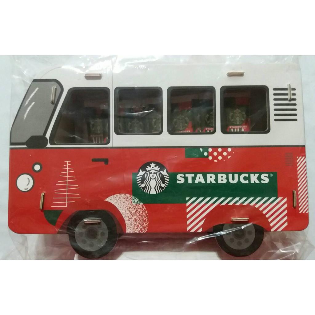 絕版 星巴克 咖啡 STARBUCKS COFFEE 聖誕 公車 巴士 禮盒 汽車 不含 VIA 即溶 研磨咖啡 商標