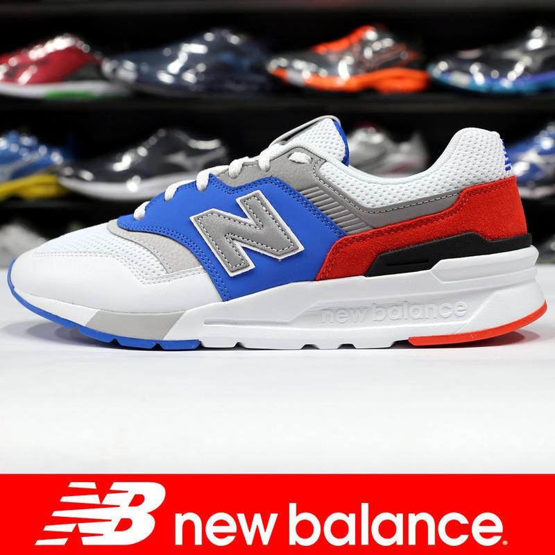 台灣公司貨 New Balance CM997HZJ 白×藍×紅 997運動鞋 男生尺寸
