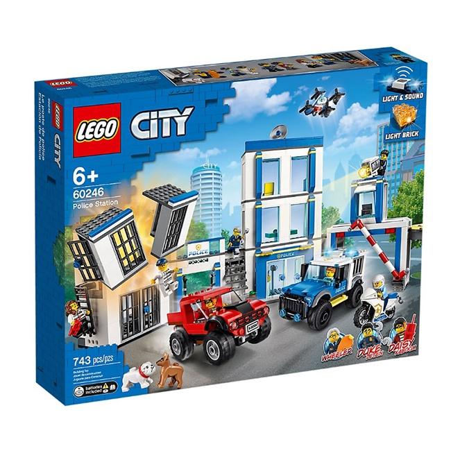 60246【LEGO 樂高積木】City 城市系列 - 警察局