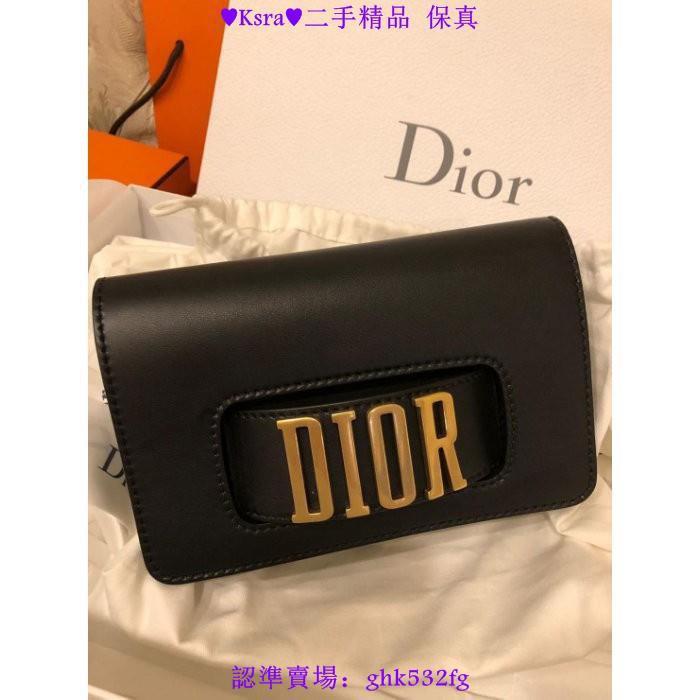 ♥Ksra♥二手精品專櫃真品  Dior MINI SAC À RABAT J'ADIOR 手拿包  現貨