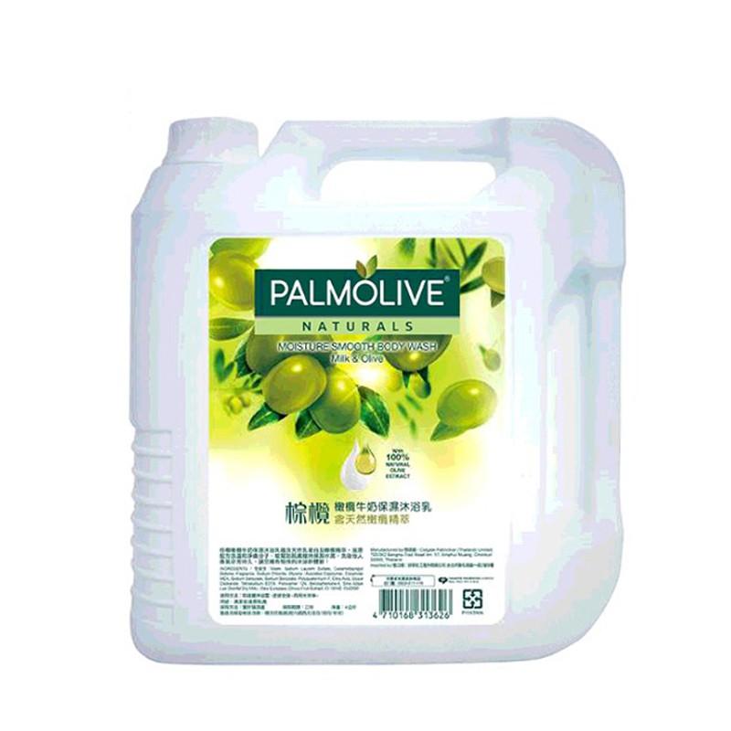Palmolive 棕欖沐浴乳4公升 - 橄欖牛奶 W214224