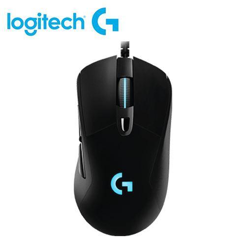 【Logitech 羅技】G403 HERO 有線電競滑鼠 【贈純水柔濕巾】