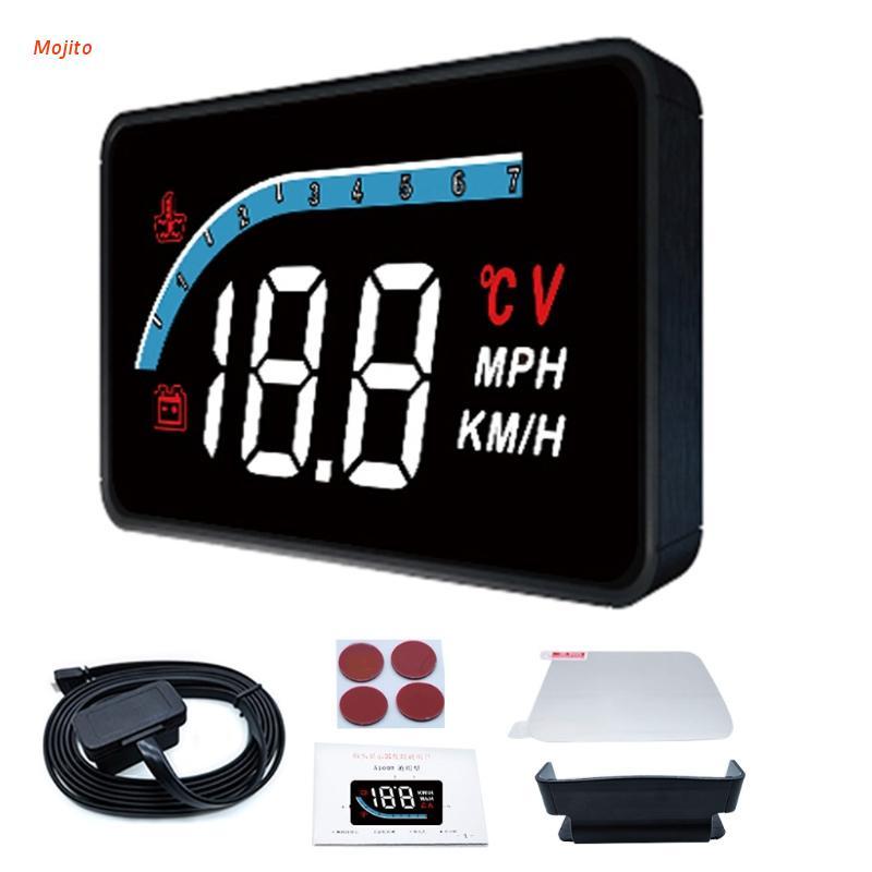 Mojito Vehicle L1 HUD Head-up Display Digital Smart Speedome
