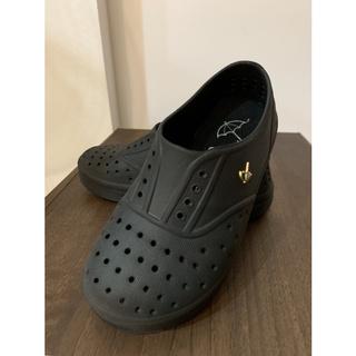 Arnold Palmer 雨傘牌 18號 黑色 兒童 洞洞鞋 附鞋墊(二手) 桃園市