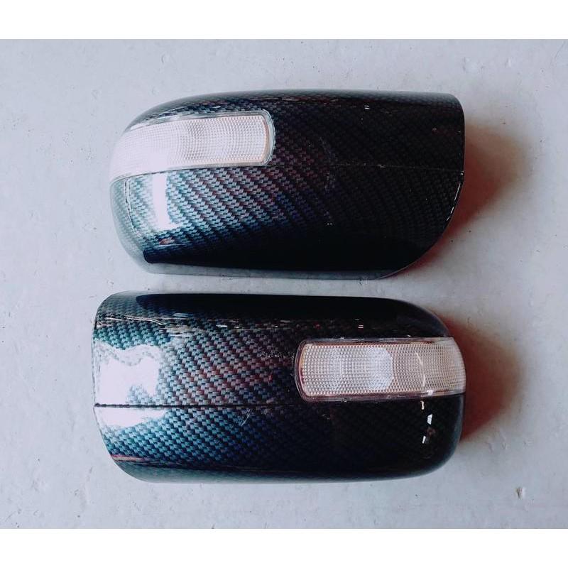 賓士 E C S W210 W202 W140 LED後視鏡蓋 卡夢後視鏡蓋 碳纖維 照後鏡 改裝精品