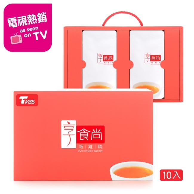 享食尚滴雞精10入 TVBS 藍心湄推薦