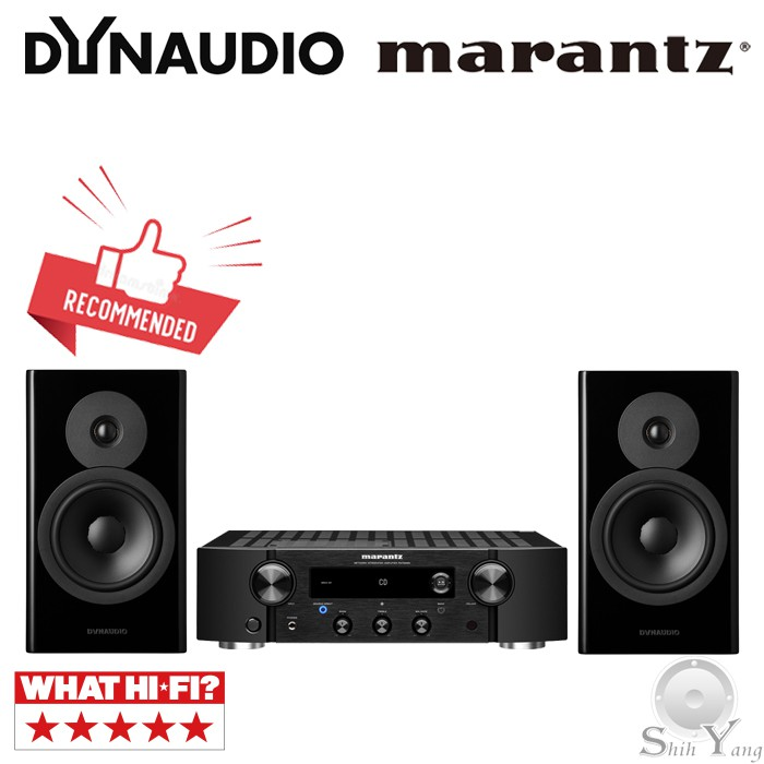Marantz PM7000N 網路音樂串流綜合擴大機 + Dynaudio EVOKE 20 書架喇叭 公司貨保固