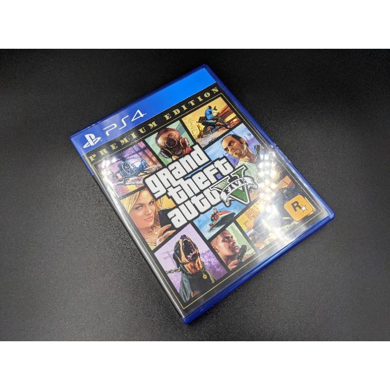 (二手)PS4 GTA5 中文版 含特典