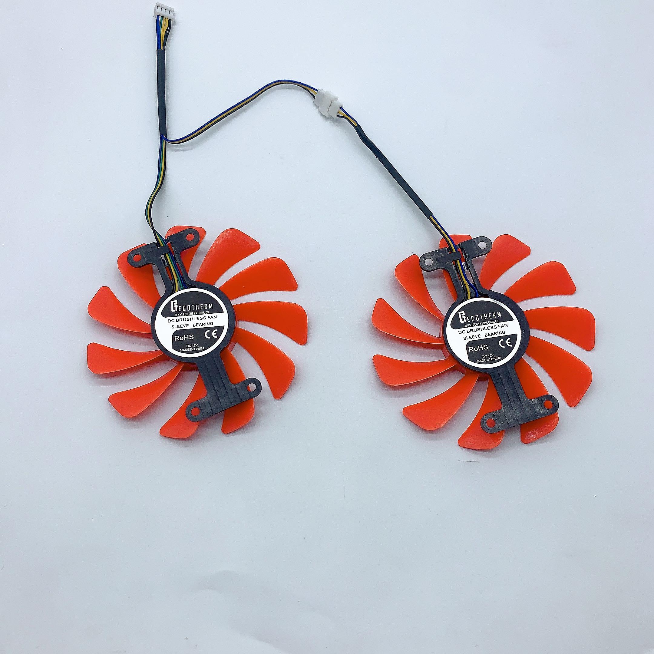 全新耕升P104顯卡風扇 GTX1070/1070ti/1080 追風版顯卡散熱風扇