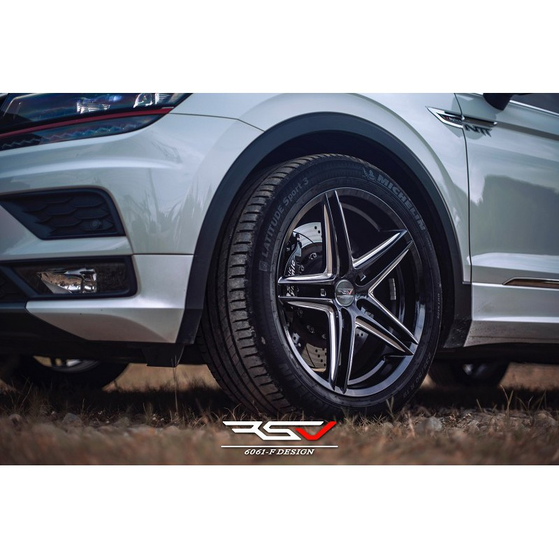 RSV SFF06 19吋鋁圈 NX200 NX300 LS460 RC200T RC300H RC350