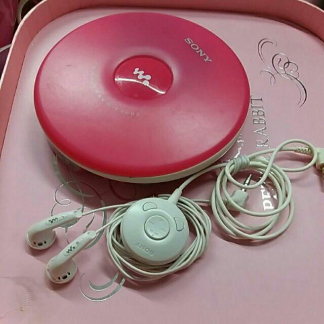 Sony D-EJ002 CD隨身聽(原廠耳機及線控)