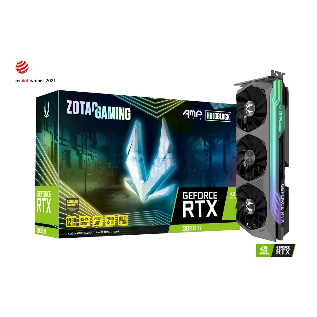 ZOTAC索泰 GAMING GeForce RTX3080 Ti AMP Holo 顯示卡