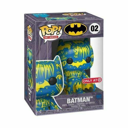 貨在美國 Funko pop Dc Batman Blue Yellow Artist Series 公仔 限定版