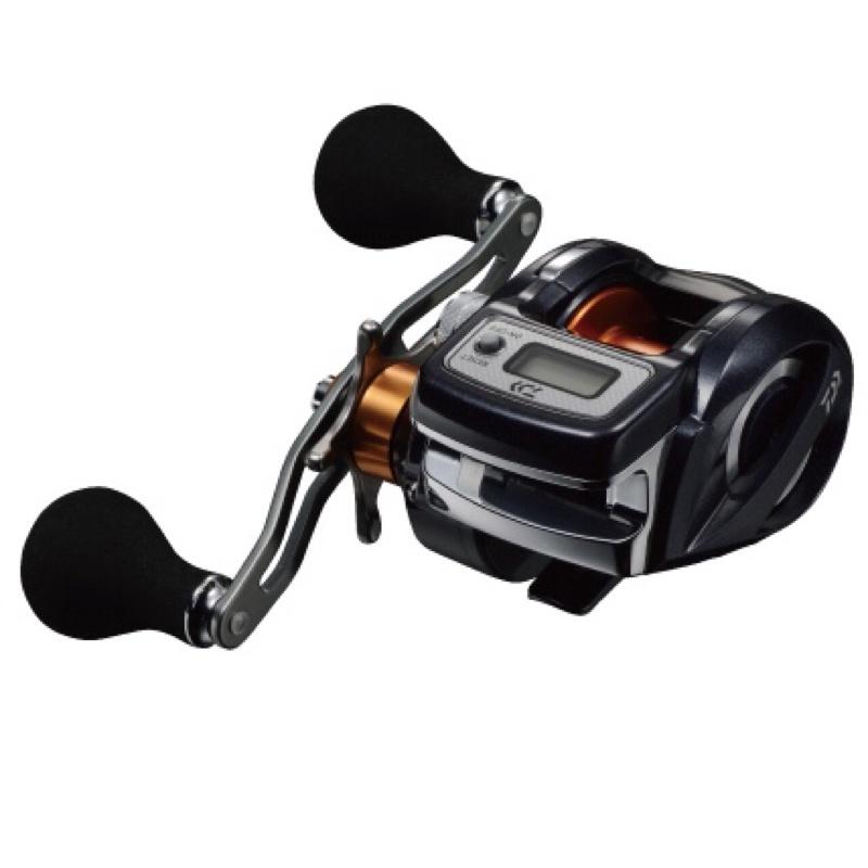 ◎百有釣具◎DAIWA LIGHTGAME X ICV 電子計米器鼓式捲線器(小烏龜)150H右手 /150H-L左手