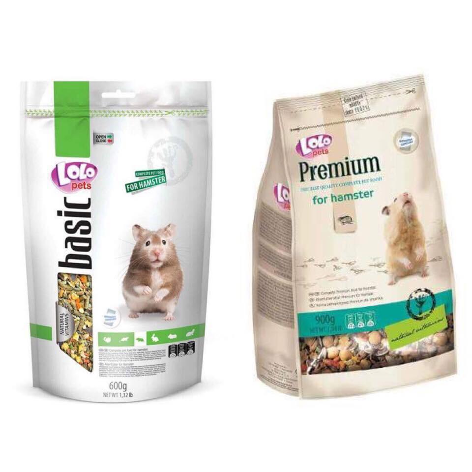 【跳跳】《100g分裝試吃包》 LOLO 營養滿分寵物鼠主食 頂級寵物鼠主食 鼠飼料 黃金鼠飼料 倉鼠飼料