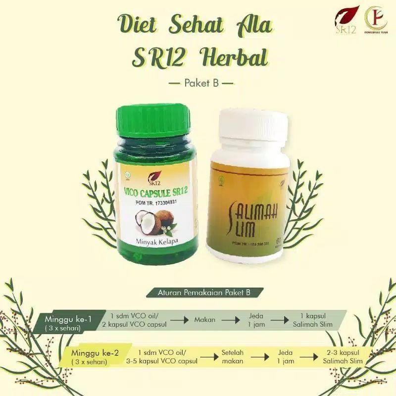 Paket Pelakor SR12(Peluntur Lemak Kotor) Diet & Detok