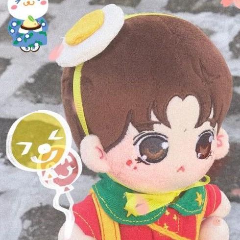20公分易烊千璽榮耀玩偶娃娃