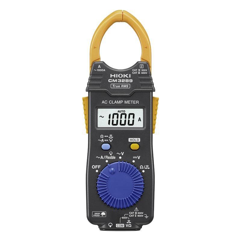 (來電3200) 附發票HIOKI CM3289(新款) 超薄型鉤錶 可搭配CT-6280