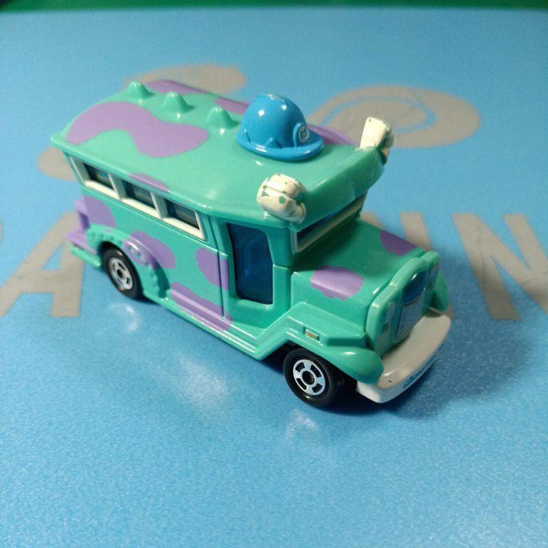 tomica tomy Disney Pixar 毛怪 合金車