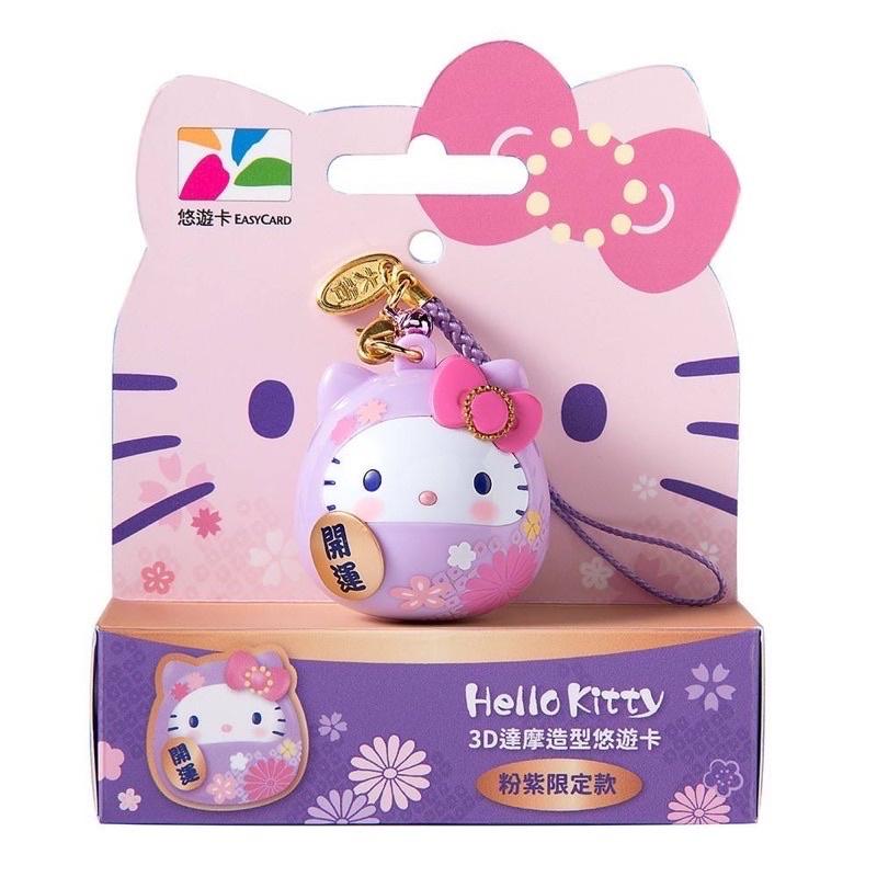 區肯 7-11 Hello Kitty  3D達摩造型悠遊卡  12/15到貨
