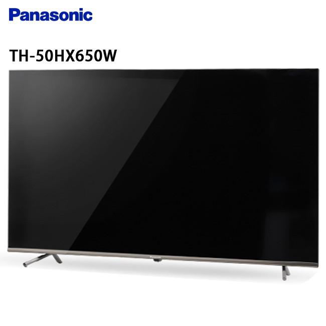 Panasonic 國際 TH-50HX650W 50吋 電視 4K超高解析度 搭載Google Play