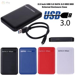 2.5 英寸 Usb 3.0 Sata 硬盤驅動器外部機箱 3tb 6gbps Hdd Ssd 磁盤盒盒