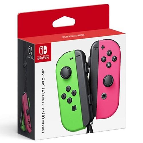 任天堂 NS Joy-Con 控制器同捆組 電光綠+粉紅【GAME休閒館】