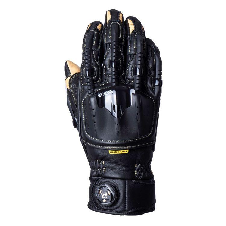 瀧澤部品 英國 KNOX Handroid Pod MKIV 機械手套 黑棕 短手套 防摔防護 皮革 骨骼 護甲 頂級