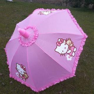 兒童雨傘 兒童傘 小雨傘 晴雨傘 兒童雨傘男女童小學生自動晴雨傘幼兒園公主傘寶寶兩用防水套KT傘
