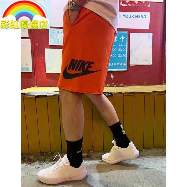 💥🌈彩虹熱銷🌈NIKE 耐吉短褲 Nike/耐吉短褲男女大勾復古運動速幹情侶款籃球跑步五分雙鉤褲子 男子訓練健身跑