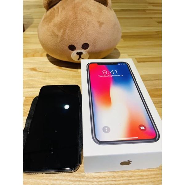 [自售機況超好]Apple iPhone X 256g 黑色二手95成新