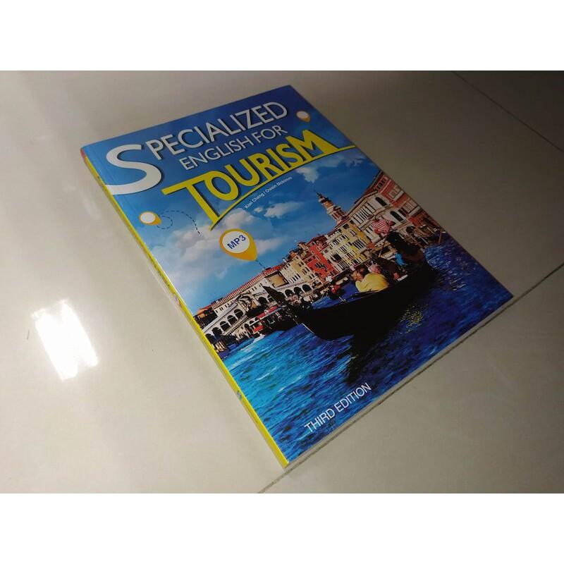 二手書56 Specialized English for Tourism 3e 含光碟書況佳9789863183655