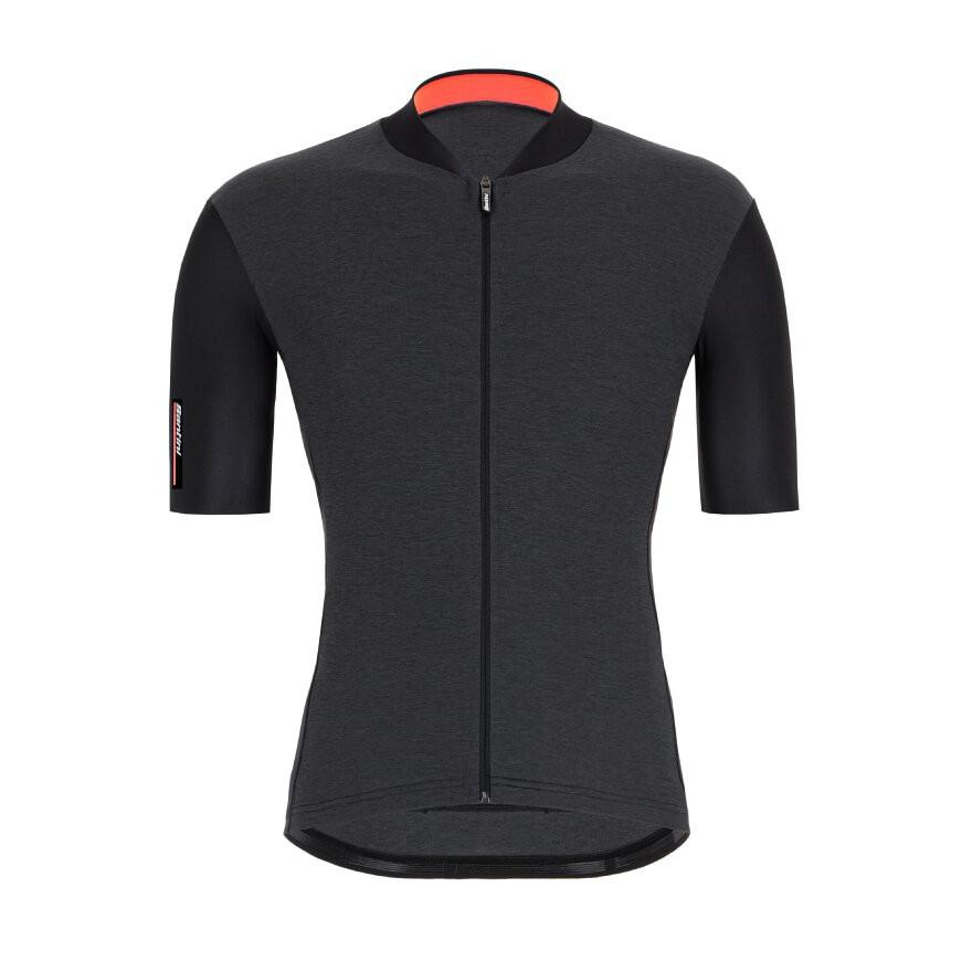 2021 Santini 【色彩】短袖車衣- 黑