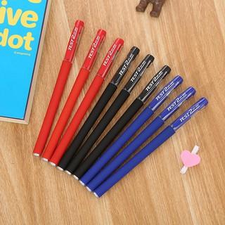 【693】黑色磨砂辦公簽字筆學習文具水性筆中性筆